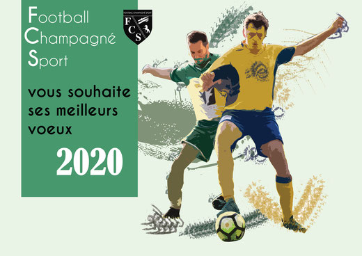 Création du calendrier pour club de foot - Graphiste Sarthe