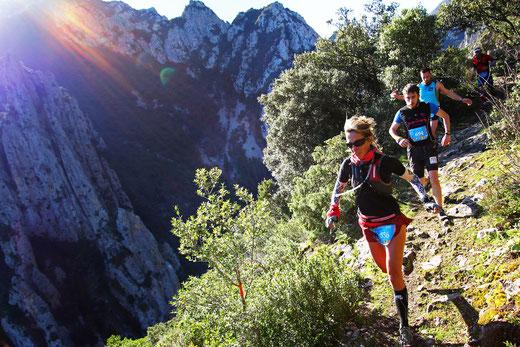 Trail Quillan 18km - Belvédère du Diable