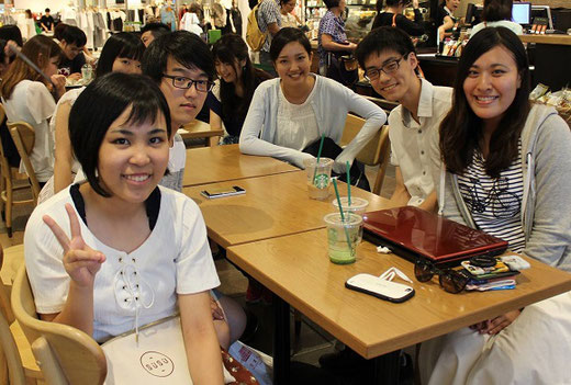 沖縄の高校生との交流