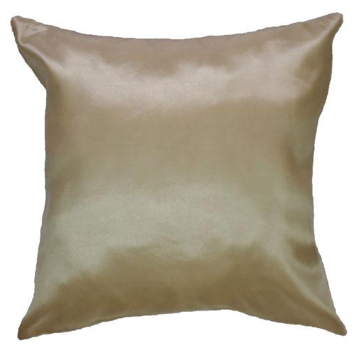 タイシルク クッションカバー  シンプル デザイン ホワイト 【Simple Design , White】 の商品画像01