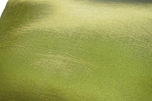 タイシルク クッションカバー  リングデザイン グリーン 【Ring Design , Green】 45×45cm 対応の商品写真04