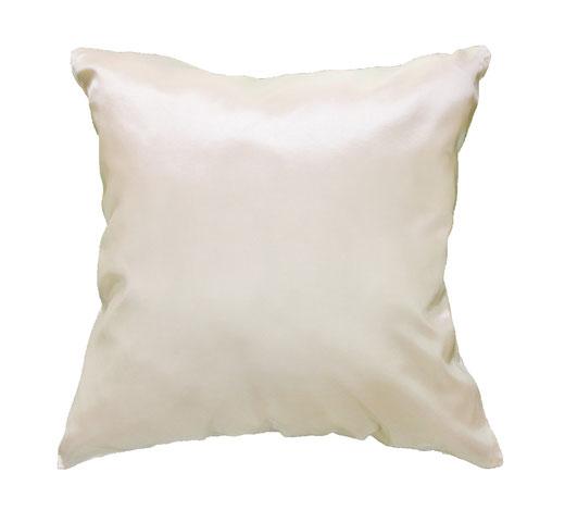 タイシルク クッションカバー  ゼブラ デザイン ホワイト 【Zebra Design , White】 45×45cm 対応の商品画像04
