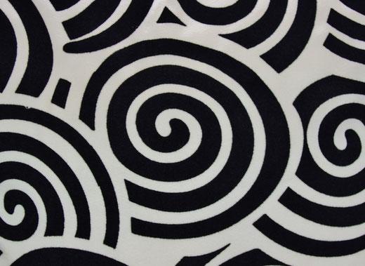 タイシルク クッションカバー  スクリュー デザイン パールホワイト 【Screw Design , Pearl White】 45×45cm 対応の商品画像02