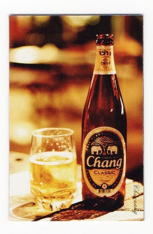 チャーン ビール マグネット type B1 (瓶ビール×縦タイプ) 1枚 【タイ雑貨 Thailand Beer Chang Magnet】 の商品画像01
