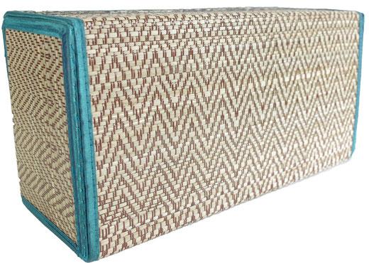 タイシルク ティッシュボックスケース ブルーの商品画像03