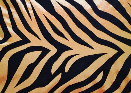 タイシルク クッションカバー  ゼブラ デザイン オレンジ 【Zebra Design , Orange】 45×45cm 対応の商品画像02