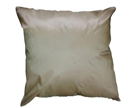 タイシルク クッションカバー  スクリュー デザイン パールホワイト 【Screw Design , Pearl White】 45×45cm 対応の商品画像05