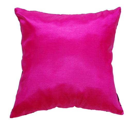 タイシルク クッションカバー  インフィニティ デザイン ピンク 【Infinity Design , Pink】 の商品画像03