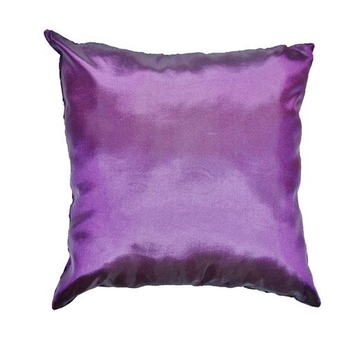 タイシルク クッションカバー  インフィニティ デザイン パープル 【Infinity Design , Purple】 の商品画像03