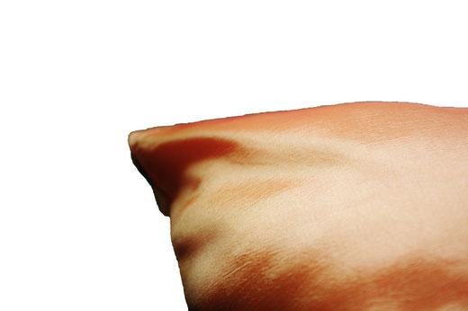 タイシルク クッションカバー  ゼブラ デザイン オレンジ 【Zebra Design , Orange】 45×45cm 対応の商品画像07