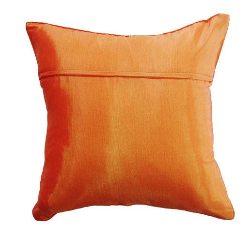 クッションカバー チェンマイ デザイン オレンジ 【Chiang Mai Design , Orange】 40×40cm の商品画像03