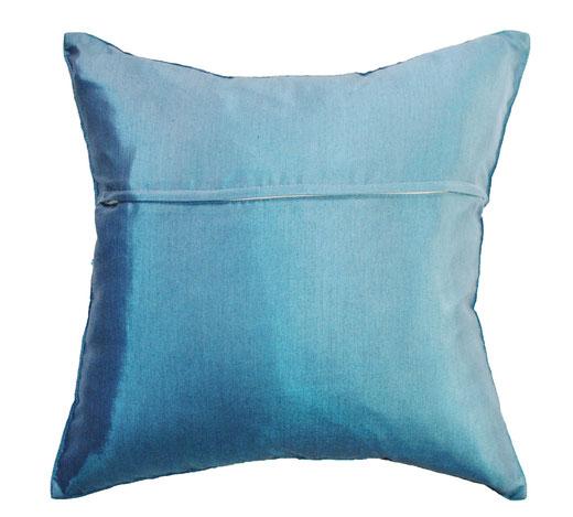 タイランド クッションカバー チェンマイ デザイン ブルー 【Chiang Mai Design , Blue】 40×40cm の商品画像03