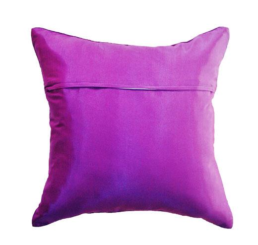 タイランド クッションカバー チェンマイ デザイン パープル 【Chiang Mai Design , Purple】 40×40cm の商品画像03