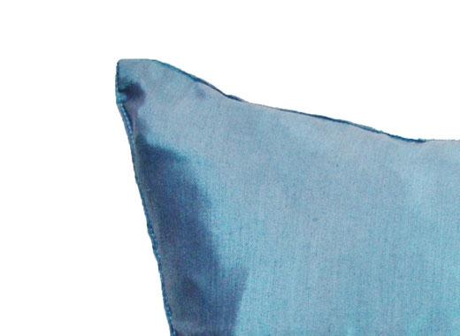 タイランド クッションカバー チェンマイ デザイン ブルー 【Chiang Mai Design , Blue】 40×40cm の商品画像04
