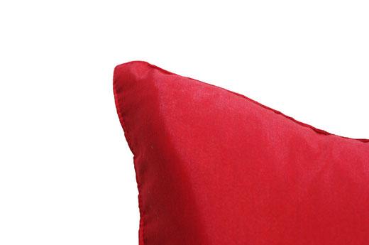 タイランド クッションカバー チェンマイ デザイン レッド 【Chiang Mai Design , Red】 40×40cm の商品画像04