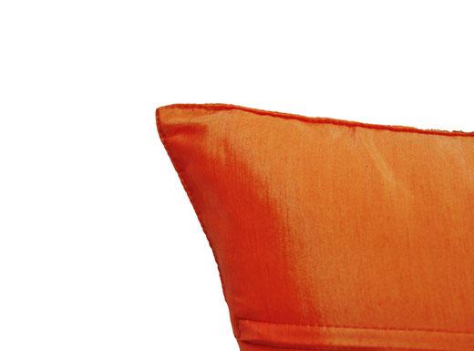 クッションカバー チェンマイ デザイン オレンジ 【Chiang Mai Design , Orange】 40×40cm の商品画像04