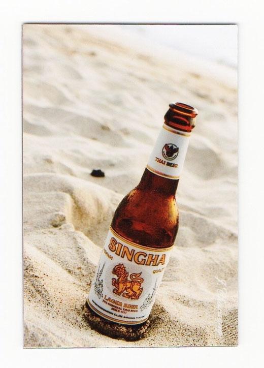 シンハー ビール マグネット type B3 (瓶ビール×縦タイプ) 1枚 【タイ雑貨 Thailand SHINGHA Beer Magnet】の商品画像01