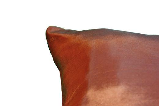 タイシルク クッションカバー  リングデザイン ブロンズ 【Ring Design , Bronze】 45×45cm 対応の商品写真16