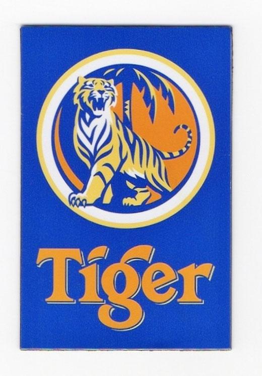 タイガー ビール マグネット type A(縦タイプ) 1枚 【タイ雑貨 Tiger Beer Magnet】の商品画像01