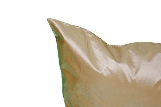 タイシルク クッションカバー  ゴールドリング デザイン ゴールド 【Gold Ring Design , Gold】 45×45cm 対応の商品写真06