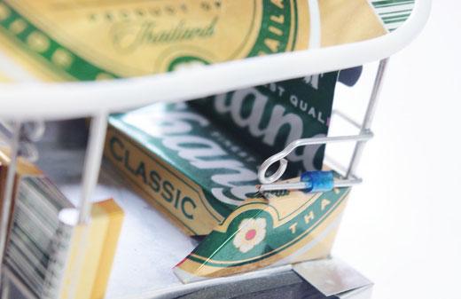 ハンドメイド トゥクトゥク (TUK TUK) チャーンビール(ビアチャン) Chang Beer の商品写真03 [タイ雑貨 アジアン雑貨 タイ旅行おみやげ]