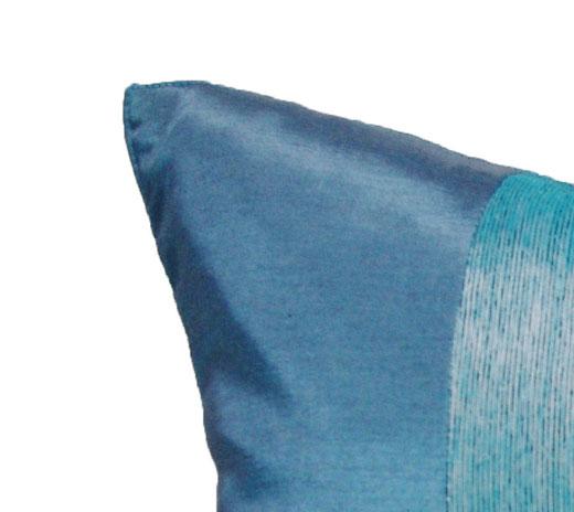 タイランド クッションカバー チェンマイ デザイン ブルー 【Chiang Mai Design , Blue】 40×40cm の商品画像02