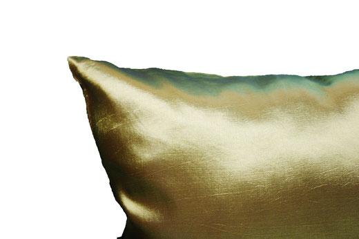 タイシルク クッションカバー  ゼブラ デザイン グリーン 【Zebra Design , Green】 45×45cm 対応の商品画像06