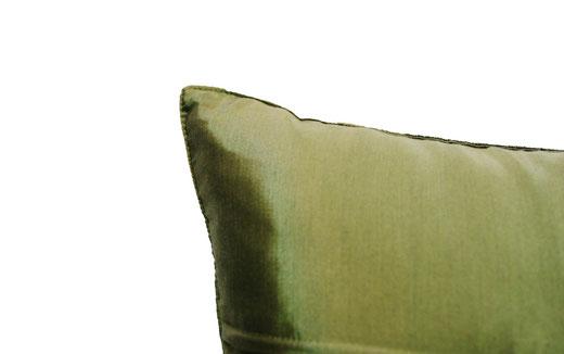 タイランド クッションカバー チェンマイ デザイン グリーン 【Chiang Mai Design , Green】 40×40cm の商品画像04