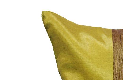 クッションカバー チェンマイ デザイン ライト グリーン 【Chiang Mai Design , Light Green】 40×40cm の商品画像02