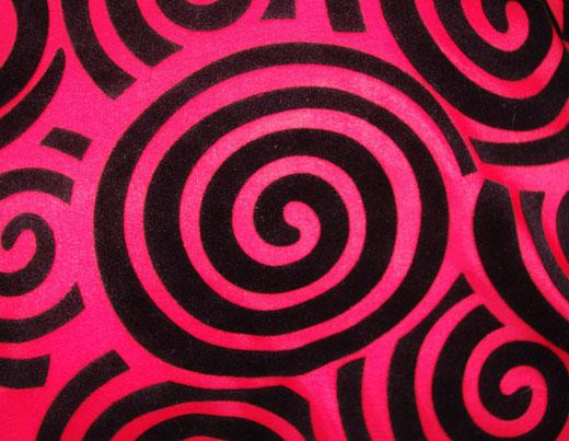 タイシルク クッションカバー  スクリュー デザイン レッド 【Screw Design , Red】 45×45cm 対応の商品画像02