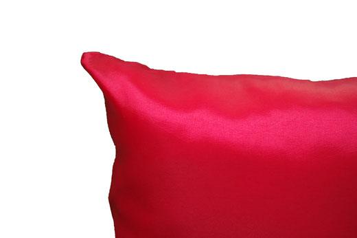 タイシルク クッションカバー  ゼブラ デザイン レッド 【Zebra Design , Red】 45×45cm 対応の商品画像06