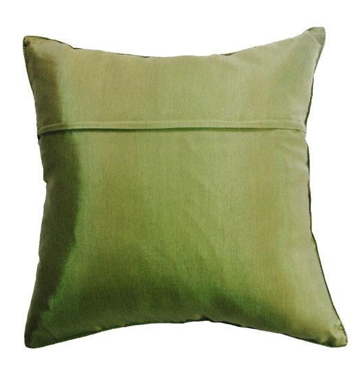 タイランド クッションカバー チェンマイ デザイン グリーン 【Chiang Mai Design , Green】 40×40cm の商品画像03