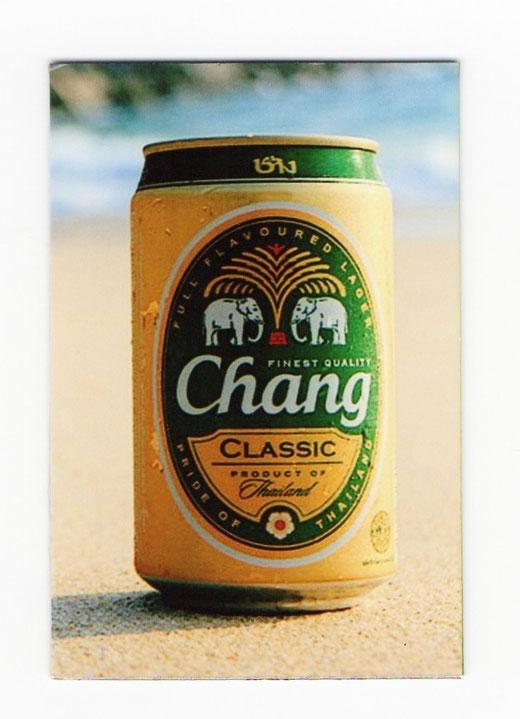 チャーン ビール マグネット type C2 (缶ビール×縦タイプ) 1枚 【タイ雑貨 Thailand Beer Chang Magnet】 の商品画像01