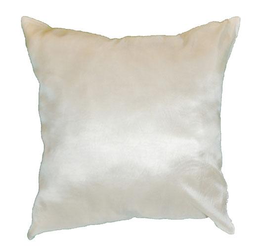 タイシルク クッションカバー  リングデザイン パールホワイト 【Ring Design , Pearl White】 45×45cm 対応の商品写真08