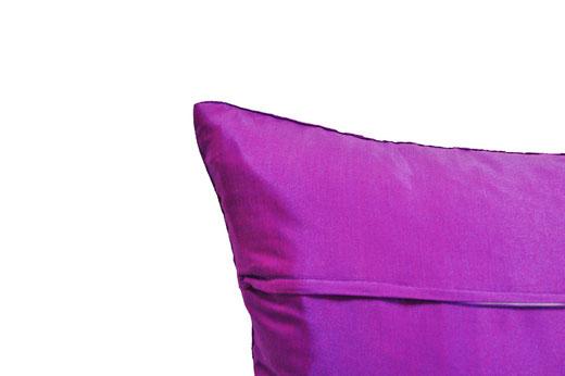 タイランド クッションカバー チェンマイ デザイン パープル 【Chiang Mai Design , Purple】 40×40cm の商品画像04