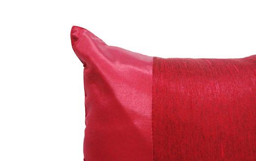 タイランド クッションカバー チェンマイ デザイン レッド 【Chiang Mai Design , Red】 40×40cm の商品画像02