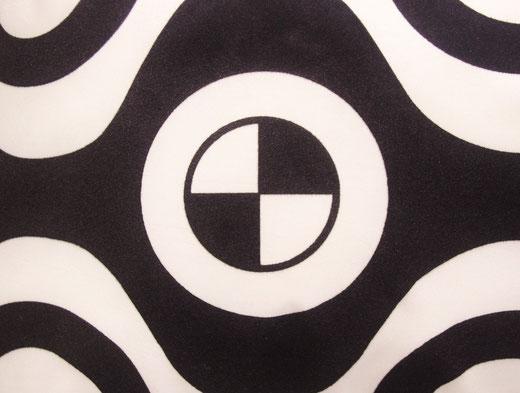 タイシルク クッションカバー  チェッカーデザイン ホワイト 【Checker Design , White】 45×45cm 対応の商品写真02