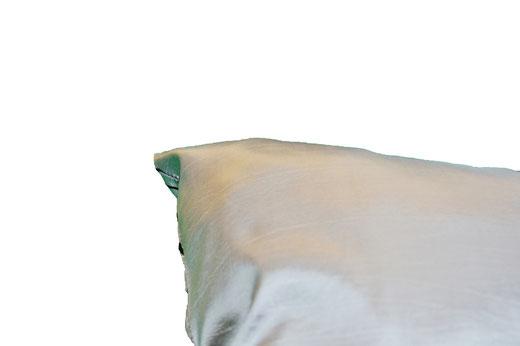 タイシルク クッションカバー  リングデザイン シルバー 【Ring Design , Silver】 45×45cm 対応の商品写真06