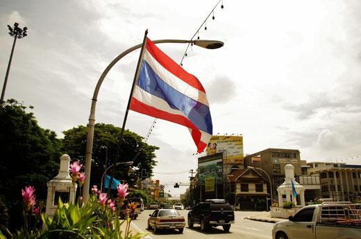 タイ国旗 写真 1