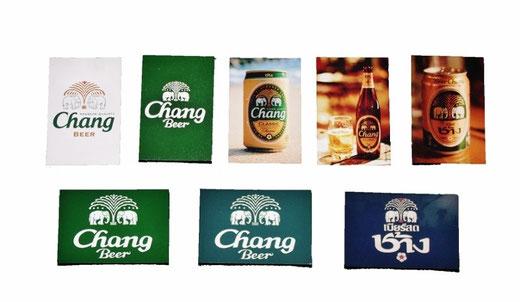 チャーンビール ビアチャン マグネット タイ文字 セット 01 [タイ雑貨 アジアン雑貨]