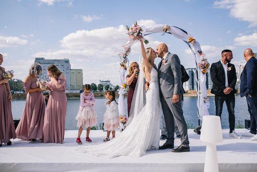 Hochzeit in der Manufaktur - Mannheimer Genusswerk. Foto: Marc Wiegelmann.