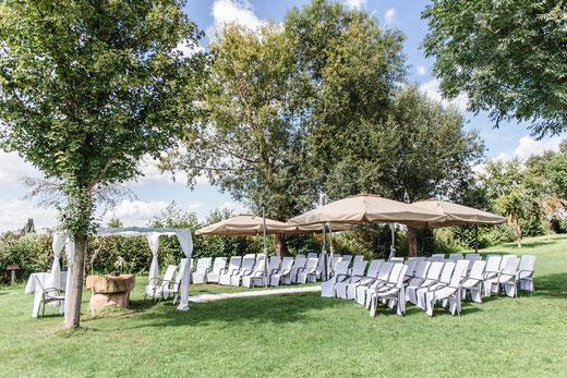 Hochzeit und Freie Trauung im Hotel Darstein - ein Fest umgeben von idyllischer Natur.