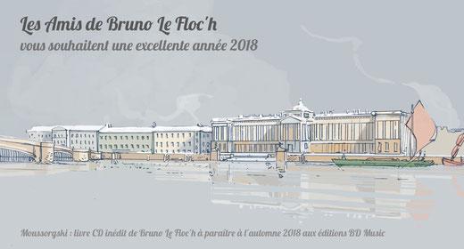 """© Bruno Le Floc'h, extrait livre-CD de """"Moussorgski"""" / BD Music"""