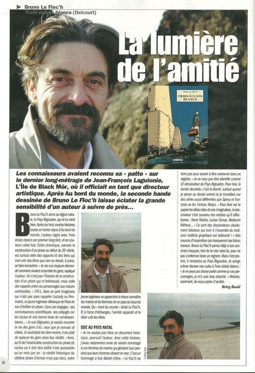 © Brieg Haslé-Le Gall / Bandes dessinées Magazine - Soleil