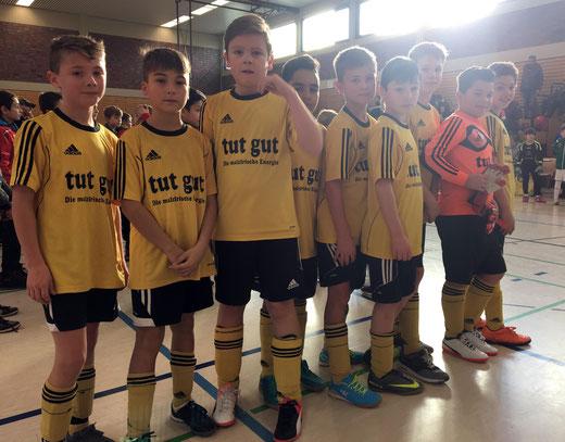 TuS E1 erfolgreich beim Futsal-Cup (Foto c.k.)