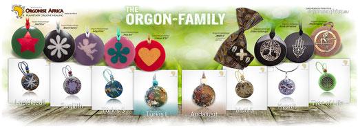 Die Orgonit-Anhänger aus der ORGON-FAMILY >>