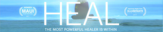 HEAL -THE MOST POWERFUL HEALER > DVD: