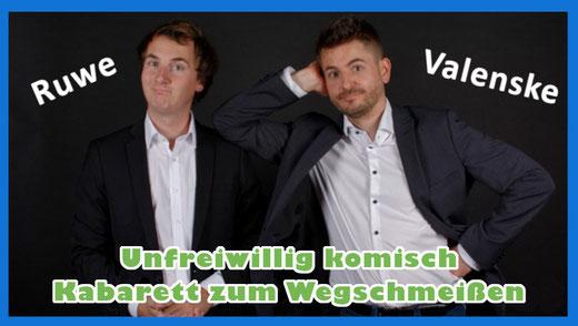 Kabarett mit Ruwe und Valenske - 26. Sept. 2020 - 20.00 Uhr im Bürgerhaus in Alveslohe