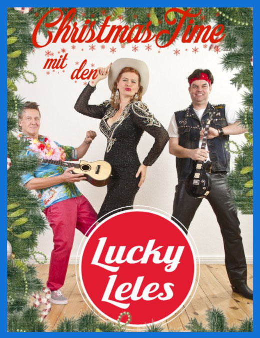 Christmas Time mit den Lucky Leeles -  Die Ukulelel WG Musikshow - 5. Dezember 2020 - 20.00 uhr im Bürgerhaus in Alveslohe