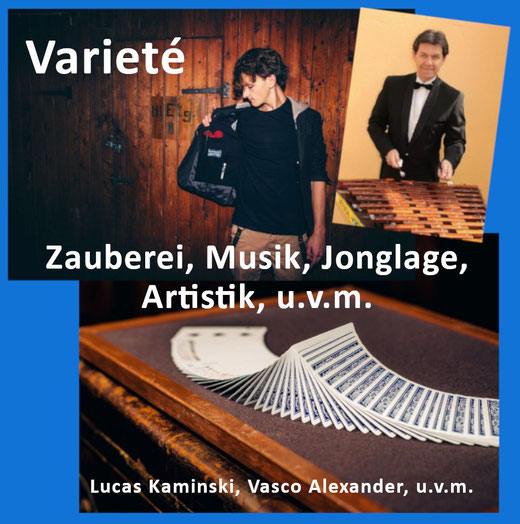 Varietè ABend mit Zauberei, Musik, Jonglage und Artistik - 14. November 2020 20.00 Uhr im Bürgerhaus in Alveslohe